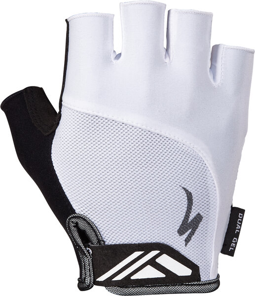 Specialized BG Dual Gel Gloves Color: White
