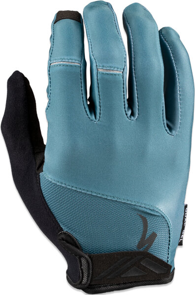 Specialized BG Dual Gel Long Finger Glove Color: Dusty Turquoise