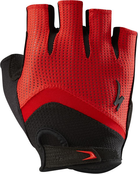 Specialized BG Gel Gloves Color: Red/Black