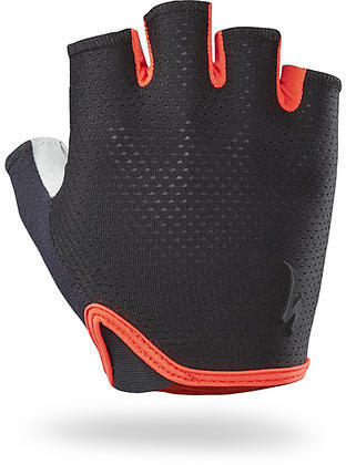 Specialized BG Grail Gloves Color: Black/Rocket Red