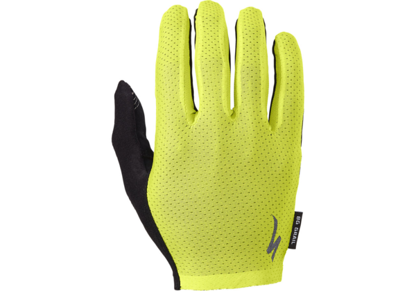 Specialized BG Grail Long Finger Gloves Color: Hyper Green