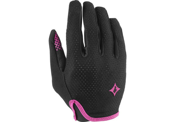 Specialized BG Grail Long Finger Gloves - Women's Color: Black/Pink