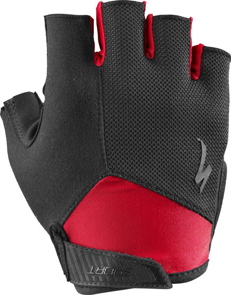 Specialized BG Sport Gloves Color: Black/Red