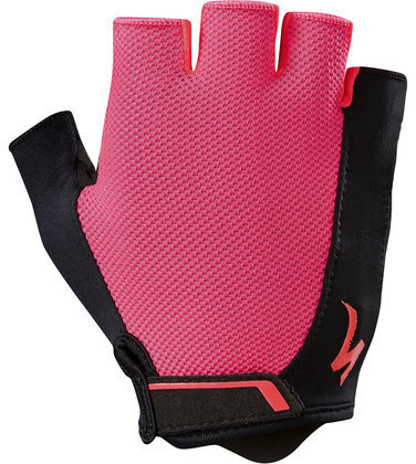 Specialized Women's Body Geometry Sport Gloves Color: Acid Red