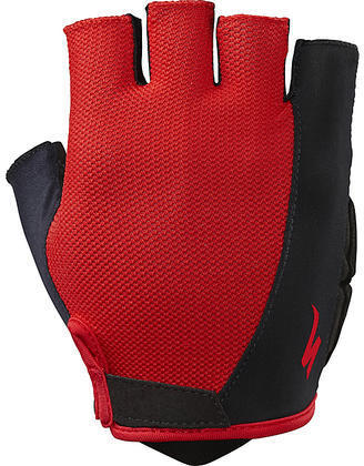 Specialized Body Geometry Sport Gloves Color: Red
