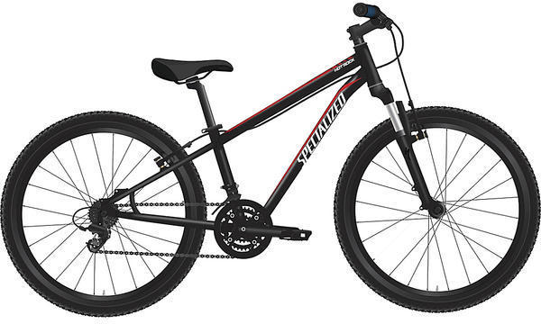 Specialized Boy's Hotrock 24 XC Color: Black/Red/White