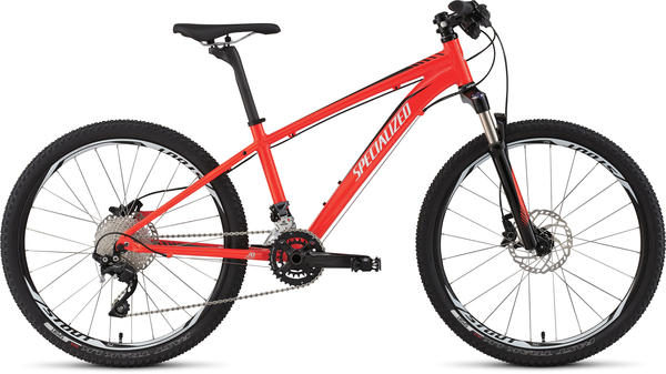 Specialized Hotrock 24 XC Pro Color: Rocket Red/Black/White