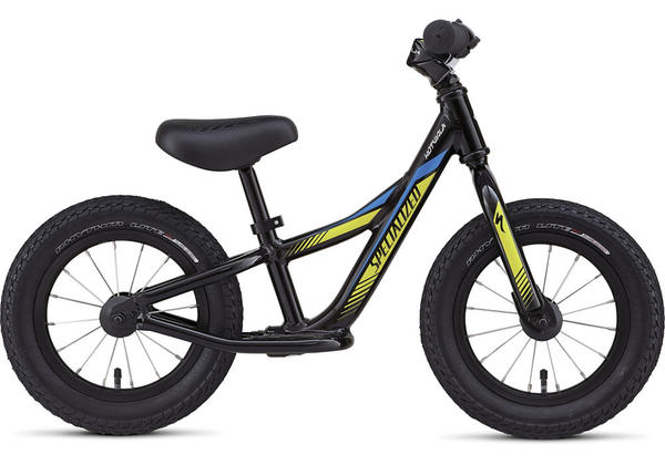 Specialized Boy's Hotwalk Color: Black/Yellow/Blue
