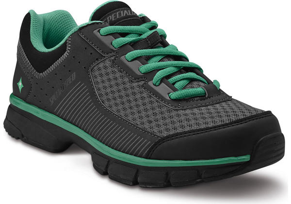 Specialized Cadette - Women's Color: Black/Carbon/Emerald Green