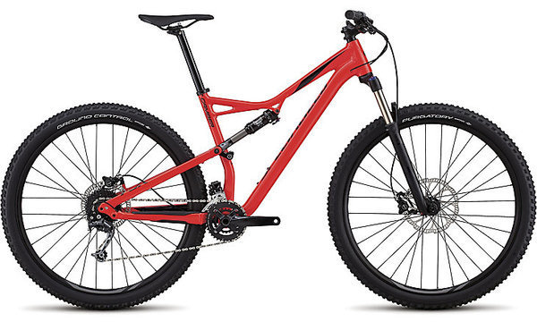 Specialized Men's Camber 29 Color: Gloss Rocket Red/Black