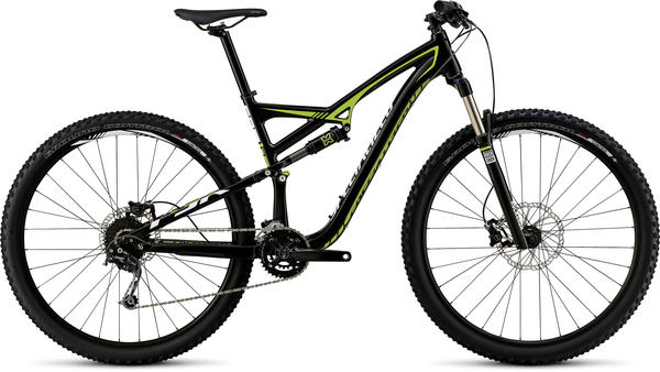 Specialized Camber 29 Color: Gloss Black/Hyper/White