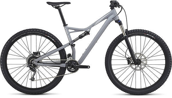 Specialized Camber 29 Color: Satin Cool Grey/Flake Silver