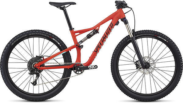 Specialized Women's Camber 650b Color: Nordic Red/Light Turquoise/Tarmac Black
