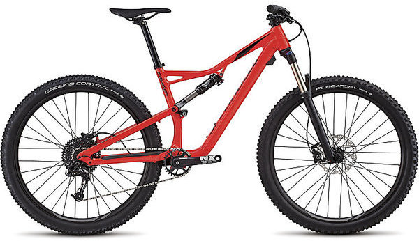 Specialized Men's Camber 27.5 Color: Gloss Rocket Red/Black