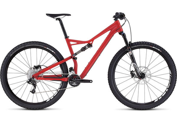 Specialized Camber Comp 29 Color: Gloss Flo Red/White Clean