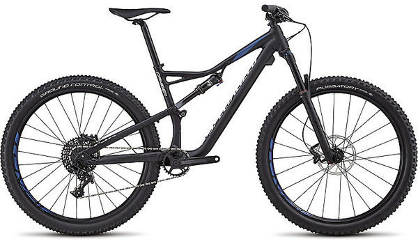 Specialized Men's Camber Comp 27.5 Color: Satin Black/Chameleon/White