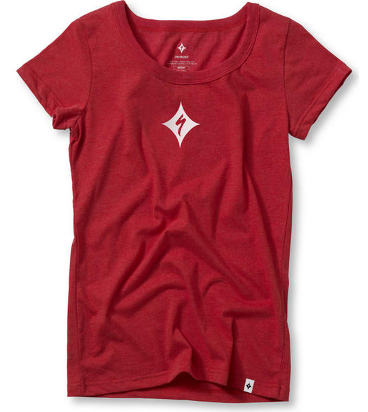 Specialized Quasar Podium Tee Shirt - Women's Color: Red/White