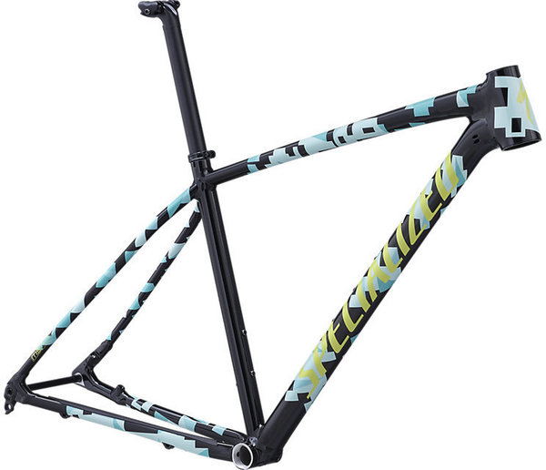 Specialized Chisel Frame Color: Gloss Tarmac Black/Mint/Team Yellow