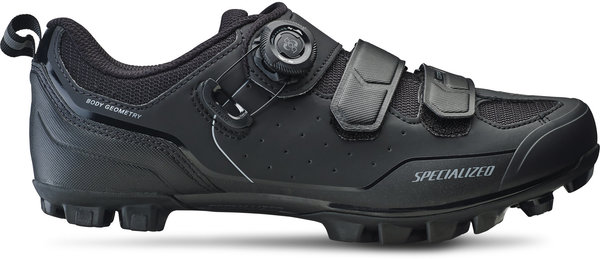 Specialized Comp Mountain Bike Shoes Color: Black/Dark Grey