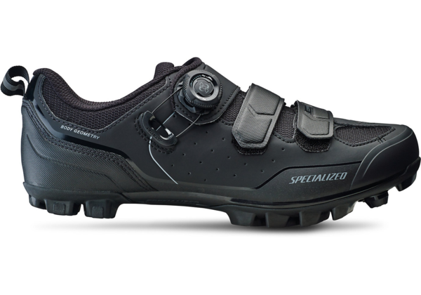 Specialized Comp MTB Shoes Wide Color: Black/Dark Grey