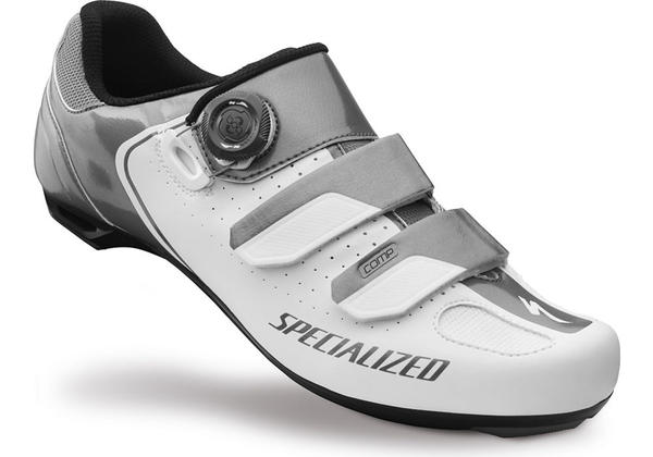 Specialized Comp Road Shoes Color: White/Titanium