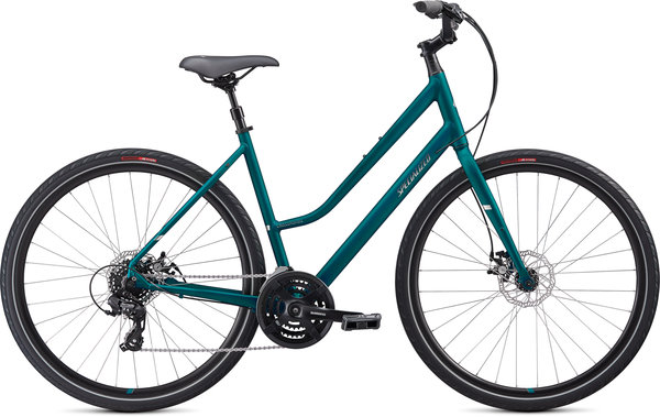 Specialized Crossroads 2.0 Step-Through Color: Marine Blue/Chrome