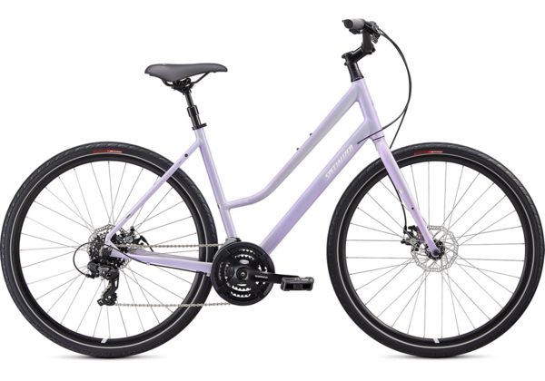 Specialized Crossroads 2.0 Step-Through Color: Gloss/UV Lilac/Chrome