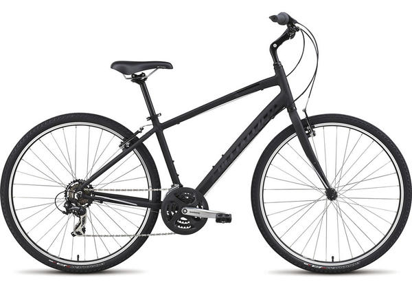 Specialized Crossroads Color: Satin Black/Gloss Black/Light Silver