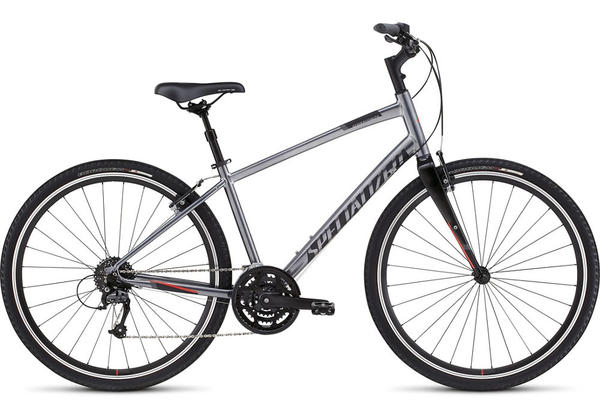 Specialized Crossroads Elite Color: Black Chrome/Satin Black/Rocket Red
