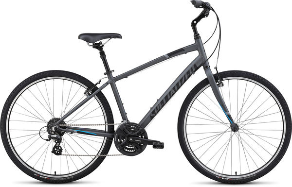 Specialized Crossroads Sport Color: Satin Graphite/Black/Solid Blue