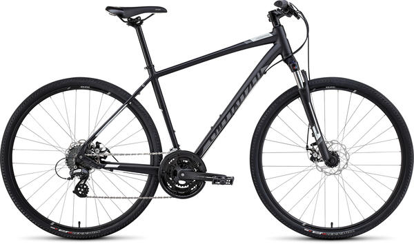 Specialized Crosstrail Disc Color: Satin Black/Charcoal/White