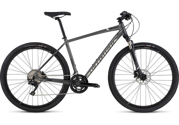 Specialized Crosstrail Expert Disc Color: Black Chrome/Satin Black/Chrome