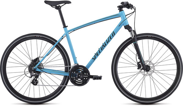 Specialized CrossTrail - Hydraulic Disc Color: Gloss Nice Blue/Black/Black Re