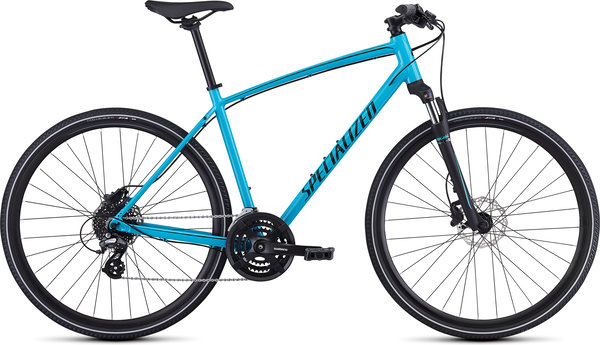 Specialized CrossTrail - Hydraulic Disc Color: Gloss Nice Blue/Black/Black Reflective