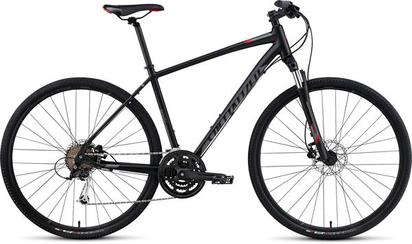 Specialized Crosstrail Sport Disc Color: Satin Black/Charcoal/Red
