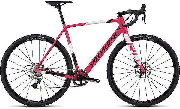 Specialized CruX Elite X1 Color: Gloss Acid Pink/Tarmac Black/White