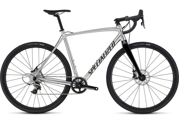Specialized CruX E5 X1 Color: Gloss Silver Ano/Clean
