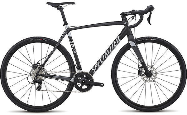 Specialized CruX Sport E5 Color: Satin Nearly Black/Charcoal