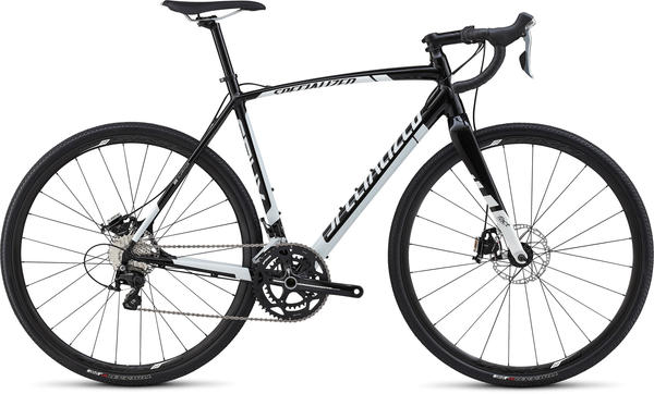 Specialized CruX Sport E5 Evo Color: Gloss Black/White
