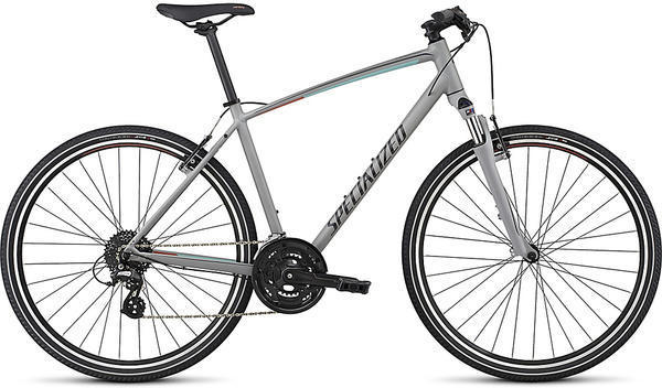 Specialized Crosstrail Color: Cool Grey/Light Turquoise/Coral