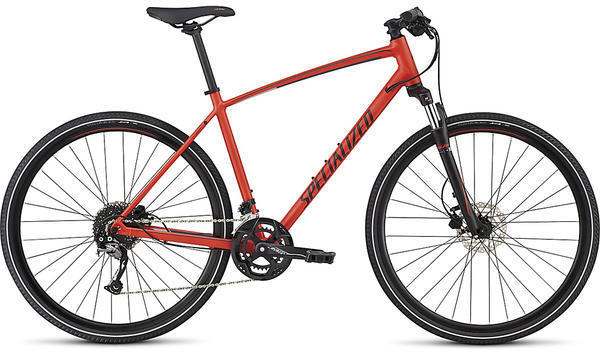 Specialized Crosstrail Sport Color: Nordic Red/Navy/Silver Flake Reflective