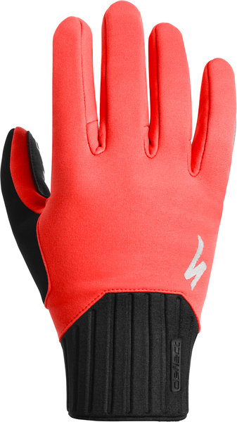 Specialized Deflect Gloves Color: Rocket Red