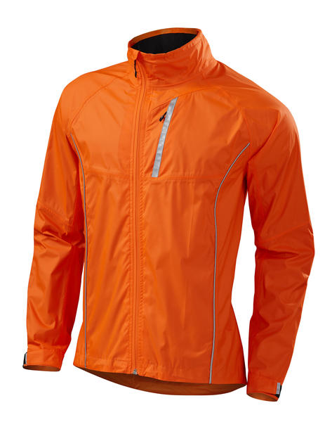 Specialized Deflect H20 Commuter Jacket Color: Neon Orange