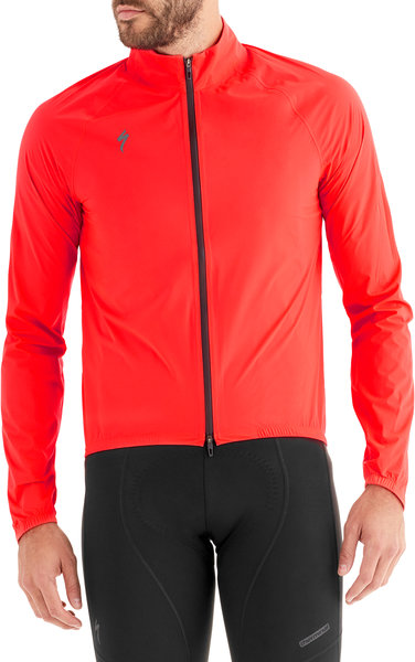 Specialized Deflect H2O Pac Jacket Color: Rocket Red