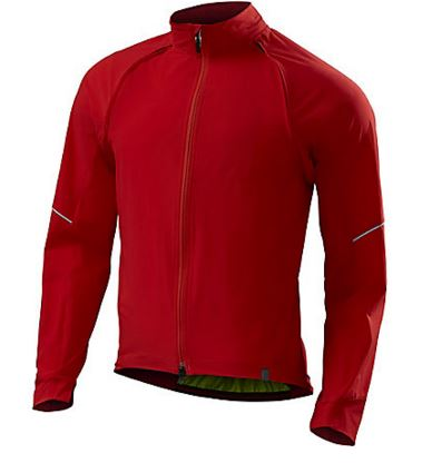 Specialized Deflect Hybrid Jacket Color: Red