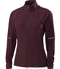 Specialized Women's Deflect Hybrid Jacket Color: Black Ruby