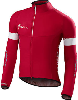 Specialized Deflect SL Jacket Color: Red/White Team