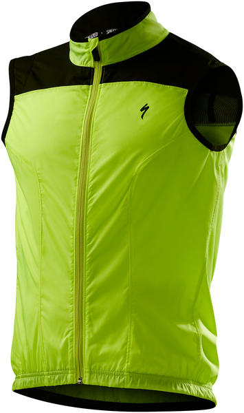 Specialized Deflect Vest Color: Neon Yellow/Black