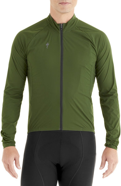 Specialized Deflect Wind Jacket Color: Kombu Green