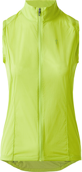 Specialized Deflect Wind Vest HyperViz Color: HyperViz